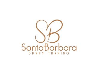 Santa Barbara Spray Tanning logo design