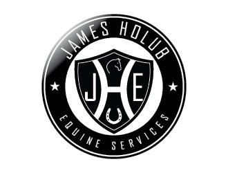 James Holub Equine Services logo design