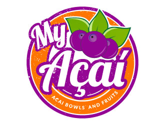My Acai logo design