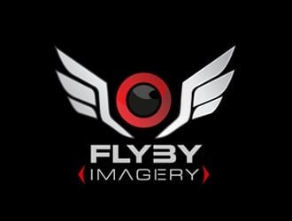 FlyBy Imagery logo design