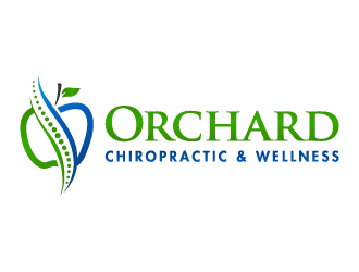 Orchard Chiropractic & Wellness logo design