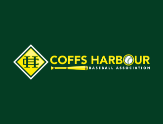 Coffs Harbour Baseball Association logo design