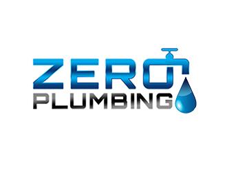 ZERO PLUMBING logo design