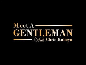 MEET A GENTLEMAN logo design