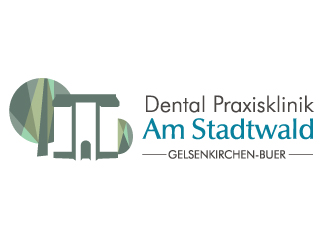 Dental Praxisklinik Am Stadtwald logo design