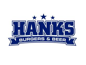 Hank's Burgers & Beer logo design