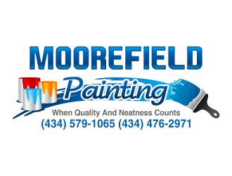Moorefield Painting logo design