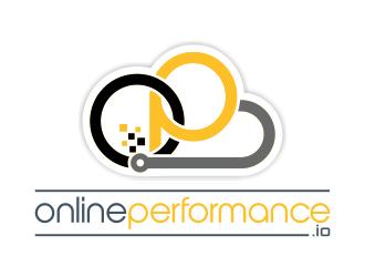 OnlinePerformance.io logo design
