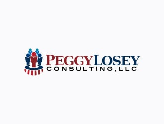 Peggy Losey Consulting, LLC logo design