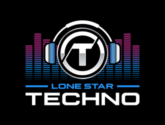 Lone Star Techno logo design