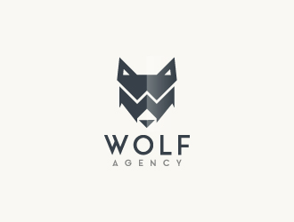Wolf Agency logo design