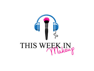 This Week in Makeup logo design