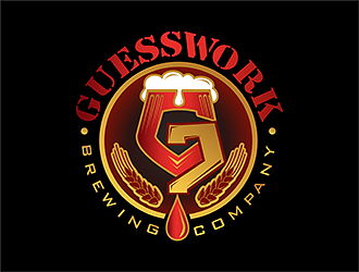 Guesswork Brewing Company logo design
