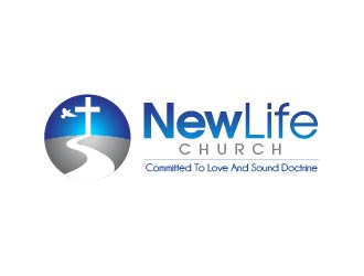 New Life Church logo design