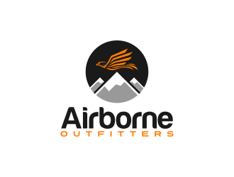 Airborne Outfitters logo design
