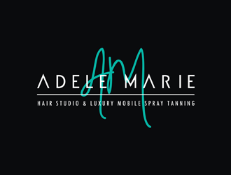 Adele Marie Hair Studio & Luxury Mobile Spray Tanning logo design