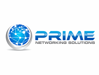 Prime Networking Solutions logo design