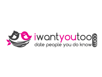 iwantyoutoo logo design