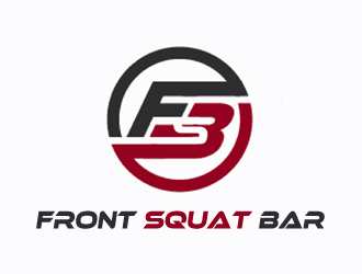 Front Squat Bar logo design
