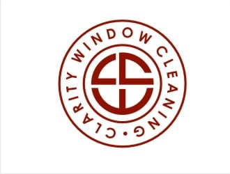 Clarity Window Cleaning logo design