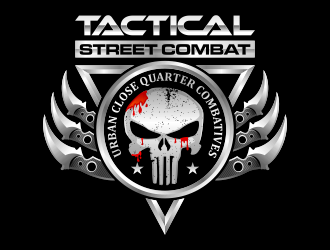 TACTICAL STREET COMBAT logo design