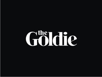 The Goldie logo design