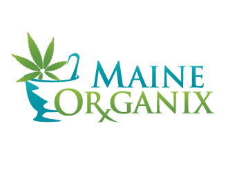 Maine Organix logo design