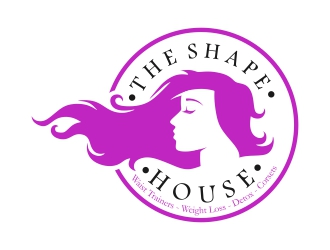 The Shape House logo design