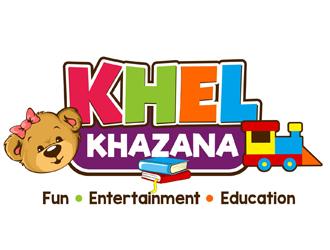 KHELKHAZANA logo design