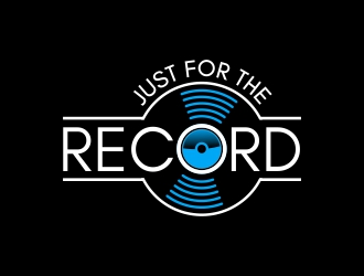 Just For The Record logo design