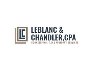 LeBlanc & Chandler, CPA logo design