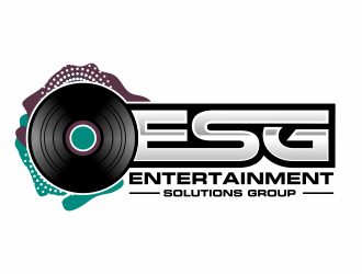 ESG (Entertainment Solutions Group) logo design