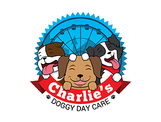 Charlie's Doggy Day Care logo design