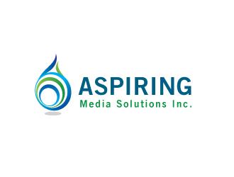 Aspiring Media Solutions logo design