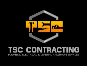tsc contracting logo design
