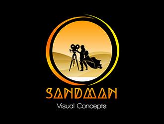 Sandman Visual Concepts logo design