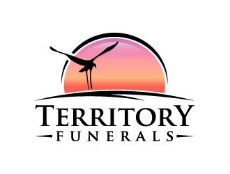 Territory Funerals logo design