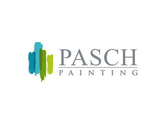 Pasch Painting logo design