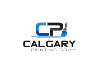 Calgary Painting Co. logo design