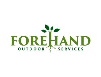 Forehand Outdoor Services logo design