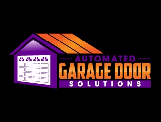 Automated Garage Door Solutions logo design