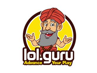 LOL Guru logo design