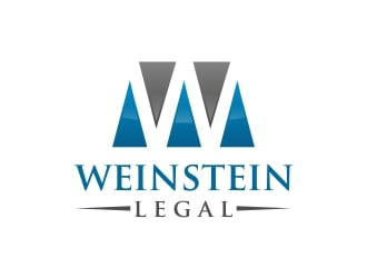 Weinstein Legal logo design