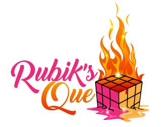 Rubik's Que logo design