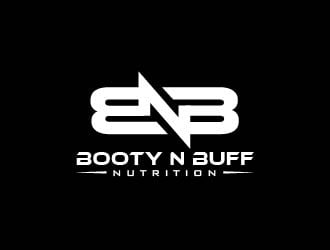 Booty N Buff Nutrition / BNB logo design