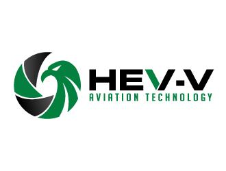Hev-e Aviation Technology logo design