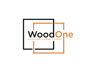 WoodOne logo design