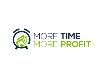 More Time More Profit logo design