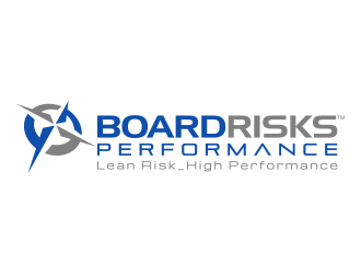 Board Risks_Performance logo design