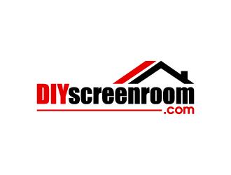 DIYscreenroom.com logo design